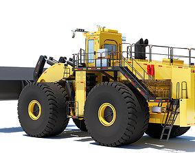 crawler Wheel Loader- 3D Model