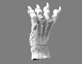 3D printable model demon beast hand