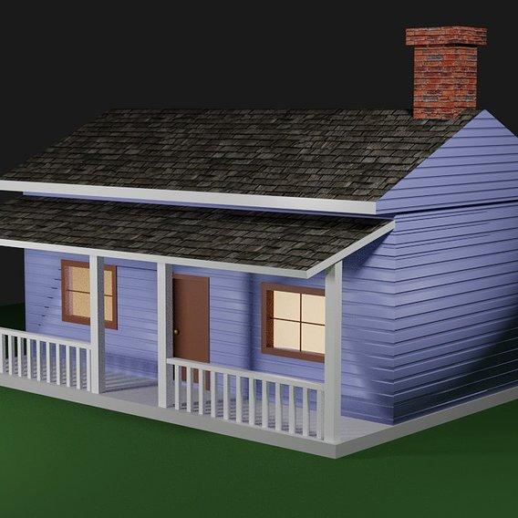 Wood House Basic