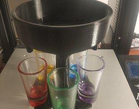 Vodka dispenser 3D print model