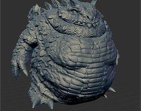 Dragon big 3D printable model