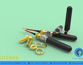 Antena electronics 3D model