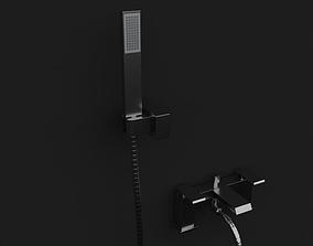 3D model Multi Flow Hand Shower