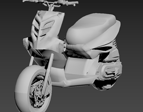 3D printable model mbk stunt yamaha slider BCD