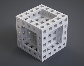 3D printable model Recursive Cube