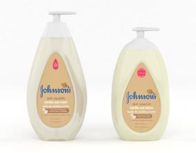 3D Johnsons Skin Nourish Baby Wash
