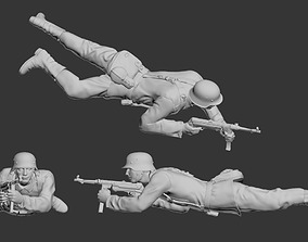 3D print model German soldier commander uniform