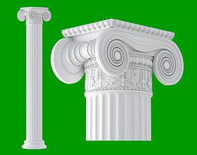 Greek Ionic 3D model
