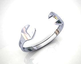 3D print model Spanner Bracelet unisex