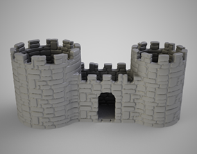 Castle Pencil Holder 3D print model
