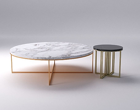 3D model Round Coffee Table