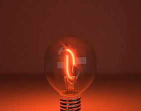 Tungsten lamp model-11 3D