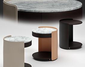 Camerich HARMON Side Table 3D model