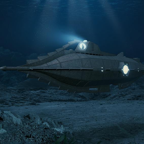 Underwater Nautilus
