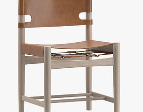 Frederica Spanish Dining Chair 3D model