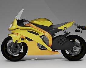 3D model Motorbike