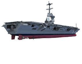 3D USS Gerald R F Aircraft Carrier CVN-78