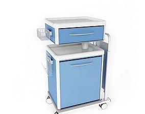 3D model Blue And White Storage Unit