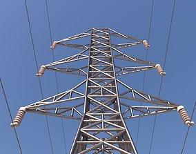3D asset ELECTRIC TOWER