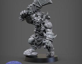 3D printable model Rakgur Strongroar
