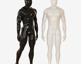 3D model Faceless mannequin