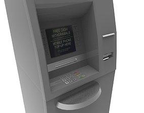 Cash machine 3D asset