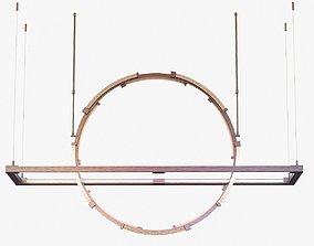 3D model Hubbardton forge Theta LED Pendant