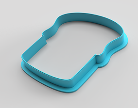 Cookie cutter - Easter cake 3D print model