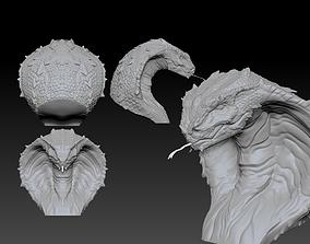 The deadly Cobra head 3D printable model