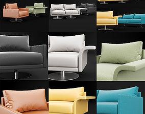 Chair mabel comfort lounge BT Design 3D