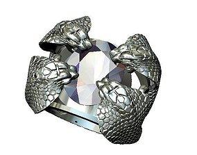 Ring snake 3D style