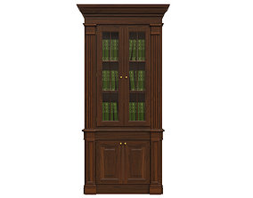3D model Bookcase 1100
