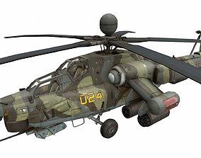 Mi-28 3D asset