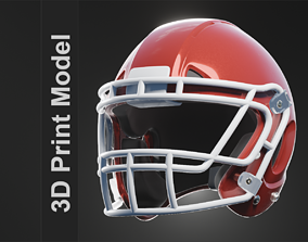 Defunct Football Helmet 3D printable model