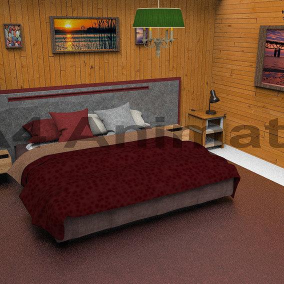 room full 3d model