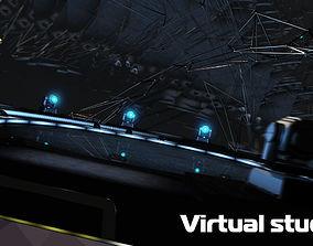 3D Virtual tv studio