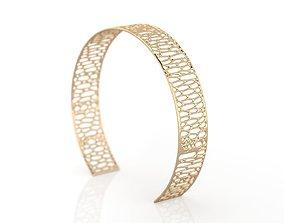 Voronoi Bracelet 3D print model
