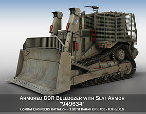 3D Armored D9R Bulldozer - 949634 - IDF