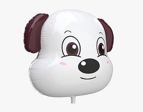 Foil decoration balloon 02 Dog 3D