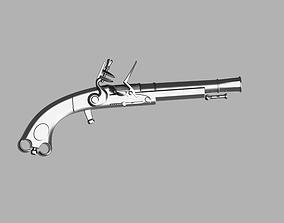 3D printable model Murdoch Scottish Flintlock Black 2
