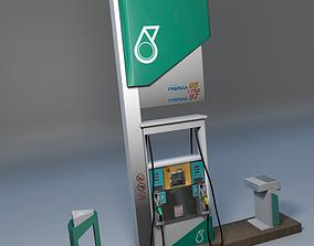 3D Petronas Fuel Dispenser Unit gasoline