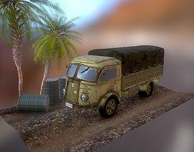 WWII Truck Fiat 626 CN Italian 3D asset