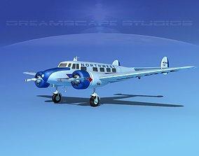 3D model Lockheed L10 Electra Nortwest