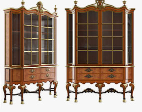 3D model CABINET OF QUEEN ANNE STYLE