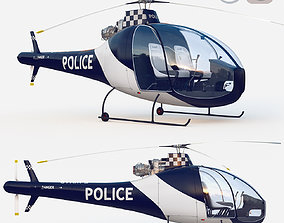 3D model rigged HAD1-T Helineo Police