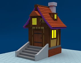 3D model Stilize Village House