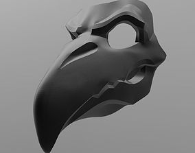 3D print model Overwatch Nevermore Reaper mask