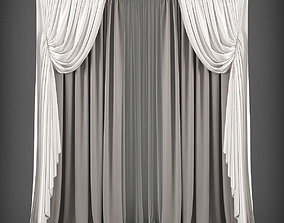 low-poly Curtain 3D model 281