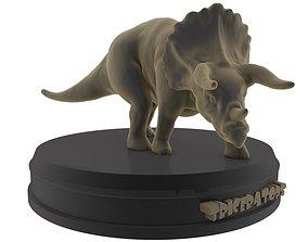 Triceratops printable
