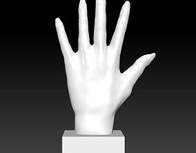 Woman hand 3D printable model